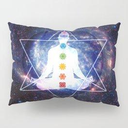 Merkaba Lightbody Chakra Meditation Pillow Sham