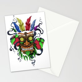 Face in Colors Stationery Cards
