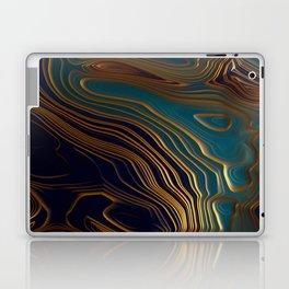 Peacock Ocean Laptop & iPad Skin
