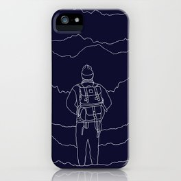 To the Mountains iPhone Case