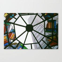 Glass Window Canvas Print