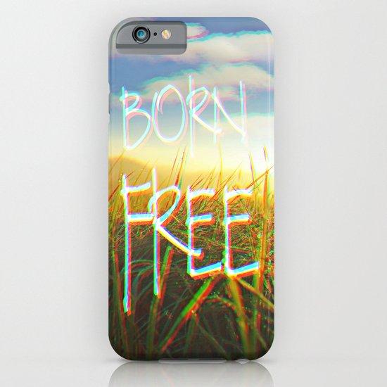 BORN FREE iPhone & iPod Case