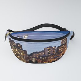 Voyeuristic 1535 Vancouver Cityscape English Bay Fanny Pack