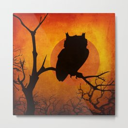 Halloween Is Coming Metal Print