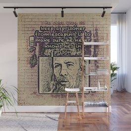 Dostoevsky Wall Mural