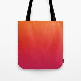 YOUNG DEATH - Minimal Plain Soft Mood Color Blend Prints Tote Bag