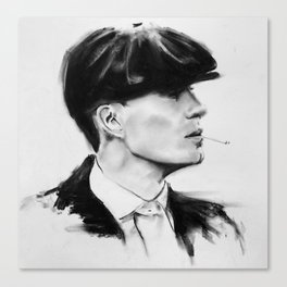 Tommy Shelby (Peaky blinders) Canvas Print