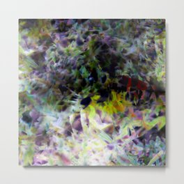 Growth and movement, or especially when you're not looking, 5. Metal Print