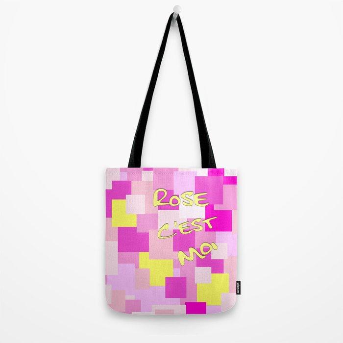 Pink is Me Tote Bag