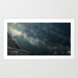 Towards the void Art Print