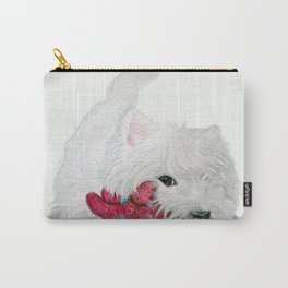 Tessie Westie Dog Carry-All Pouch
