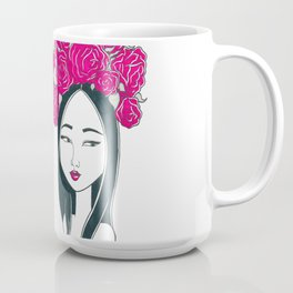 Head of Roses Coffee Mug
