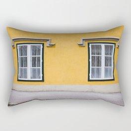 Baden Yellow Rectangular Pillow