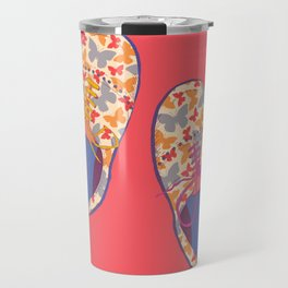 Butterfly Shoes Travel Mug