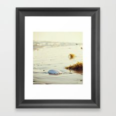 Longing for the Sea Framed Art Print