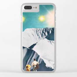 The Two Of Us Clear iPhone Case