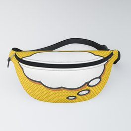 Comic Book THINK Fanny Pack