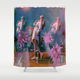 The Kiss SS16 Shower Curtain