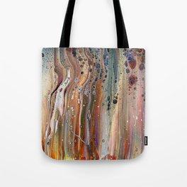 Fluid Acrylic IX - Abstract, original, acrylic pour painting Tote Bag