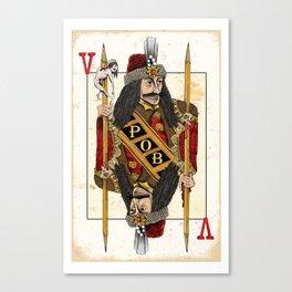 Vlad Impaler Canvas Print