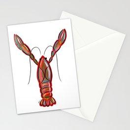 King Crawfish Stationery Cards