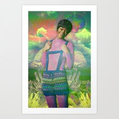 Sugga Momma Art Print
