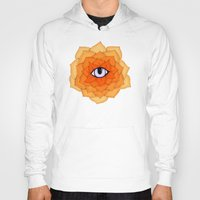 chakra Hoodies featuring Sacral Chakra by DuckyB