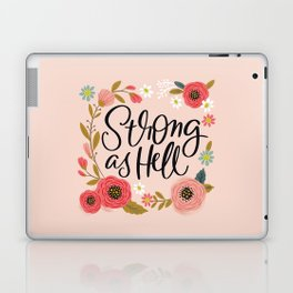Pretty Not-So-Sweary: Strong as Hell Laptop & iPad Skin