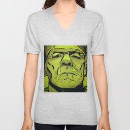 Frankenstein - Halloween special! Unisex V-Neck