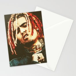 Lil Pump art Stationery Cards