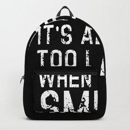When The DM Smiles Nerd Backpack