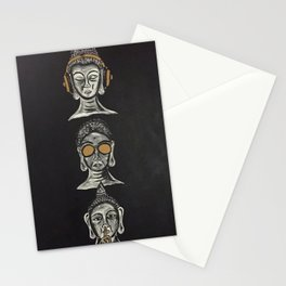 THE THREE WISE BUDDHAS Stationery Cards