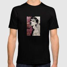 Audrey Mens Fitted Tee Black MEDIUM