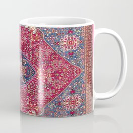 Qashqa'i  Antique Fars Persian Rug Coffee Mug