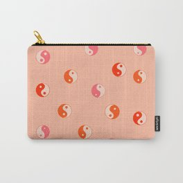Yin and yang pink pattern  Carry-All Pouch