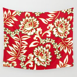 Tropical Eggnog Punch Wall Tapestry