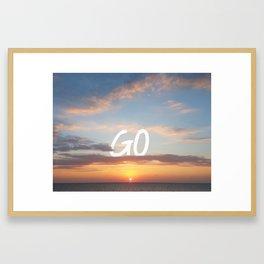 Endless Skies Framed Art Print