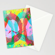 pastel color rings  Stationery Cards