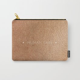 human skin Carry-All Pouch