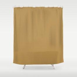 Honey Mustard Shower Curtain