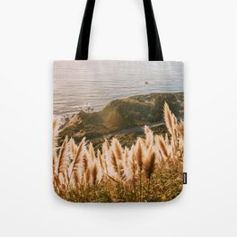Big Sur at Sunset Tote Bag