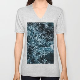 Wrath of the Dark Tempest Ocean Unisex V-Neck