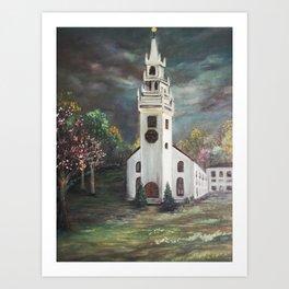 Trinity Church, Newport, RI Art Print