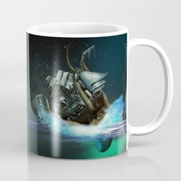 Kraken Attack Coffee Mug