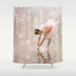 Dancer in Water Shower Curtain