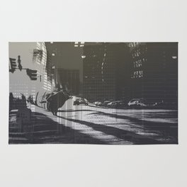 City collage Rug