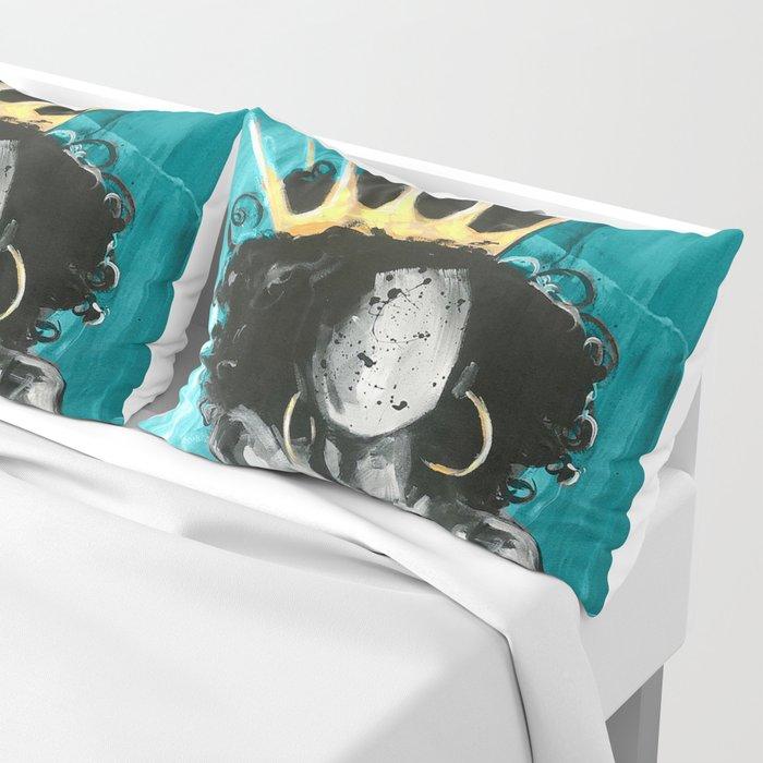 Naturally Queen IX TEAL Pillow Sham
