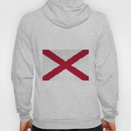 Extruded flag of Alabama Hoody