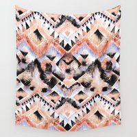 southwest Wall Tapestries featuring Southwest Floral by Casey Saccomanno