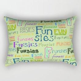 Funsies, 2 Rectangular Pillow